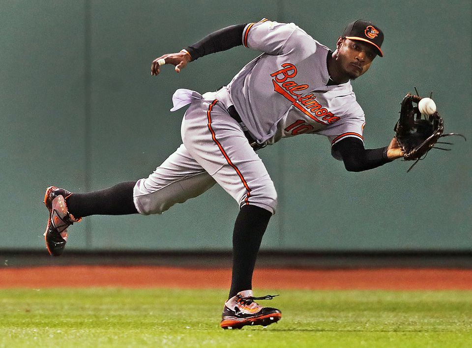 Adam Jones had a spectacular night in the field Monday — the opposite of what he said were his interactions with fans in the Fenway Park crowd.