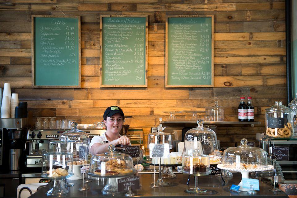 Colleen Freitas in Portugalia Marketplace's cafe.