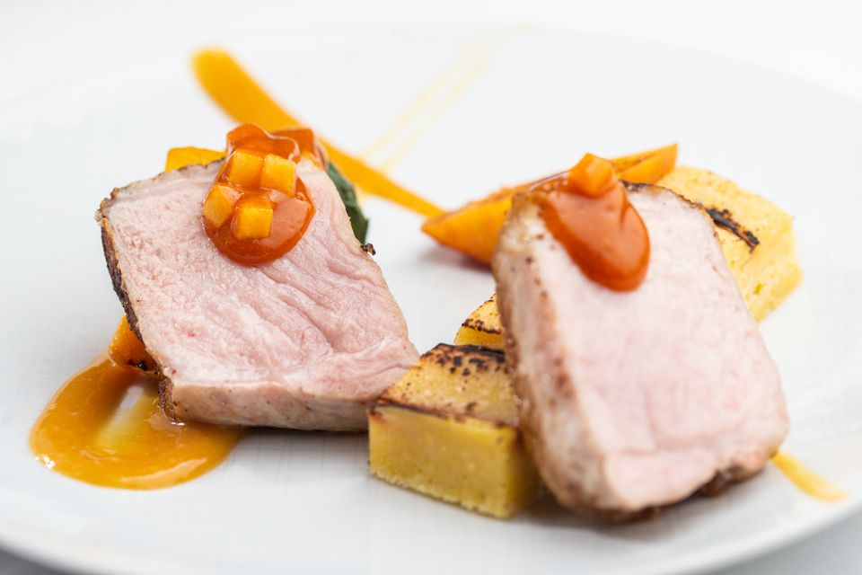 Berkshire pork at Talulla