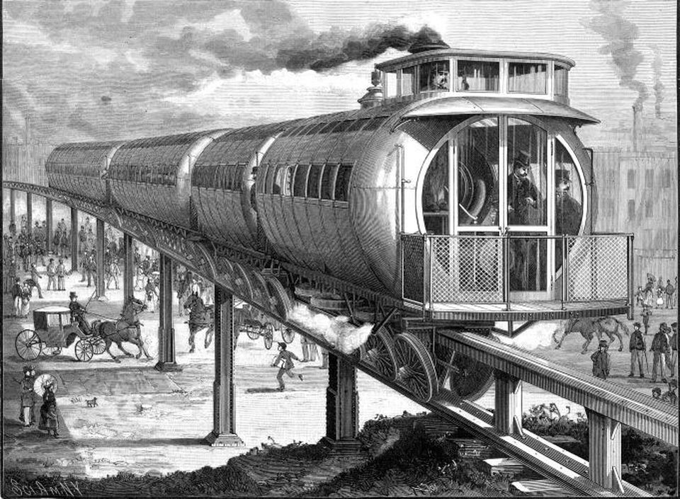 The Meigs Elevated Railway.