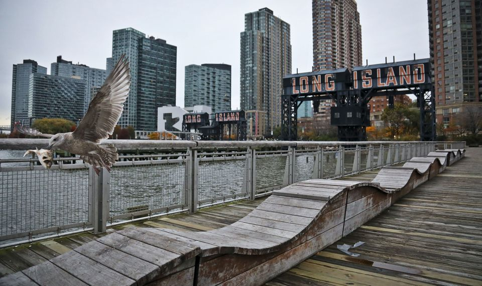 A view of Long Island City in Queens, where Amazon plans to build a campus for up to 25,000 employees.