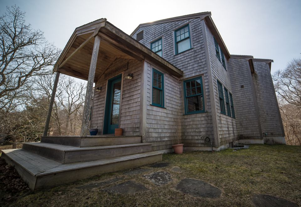 This house on Skye Lane in Aquinnah was allegedly a site for pornographic movies.