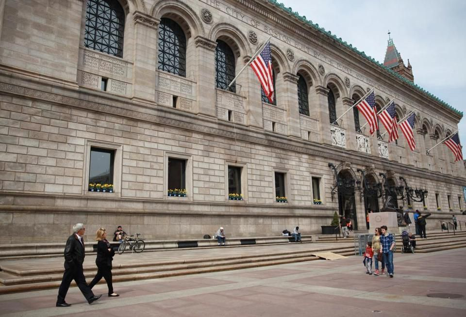 Mike Bunch, an outreach case manager social worker at Pine Street Inn, has been hired to work at the library's central branch in Copley Square, according to the mayor's office.