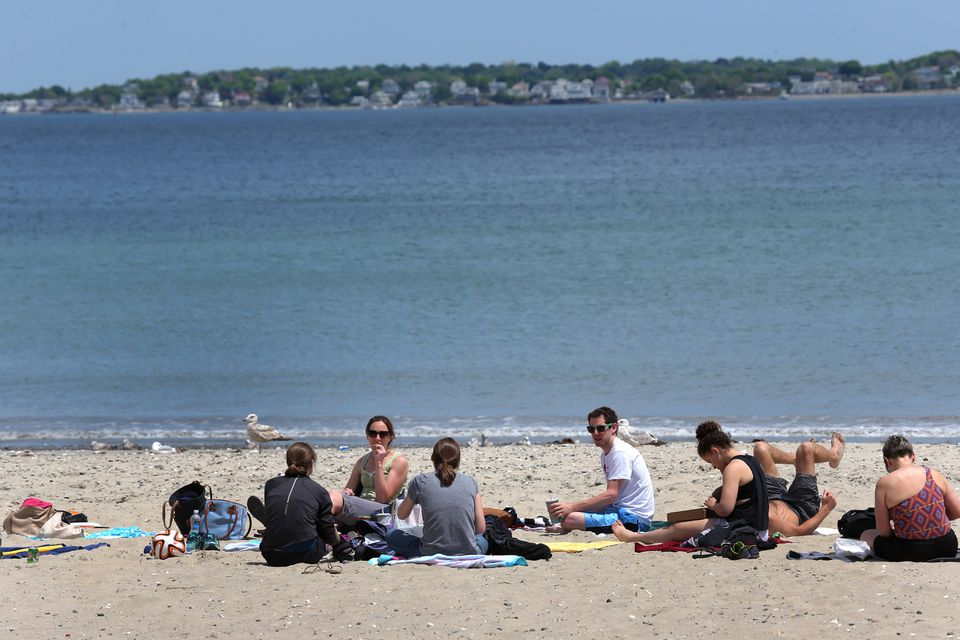 Beach-goers at Revere, and in many places elsewhere in the state, enjoy clean water, according to a report.