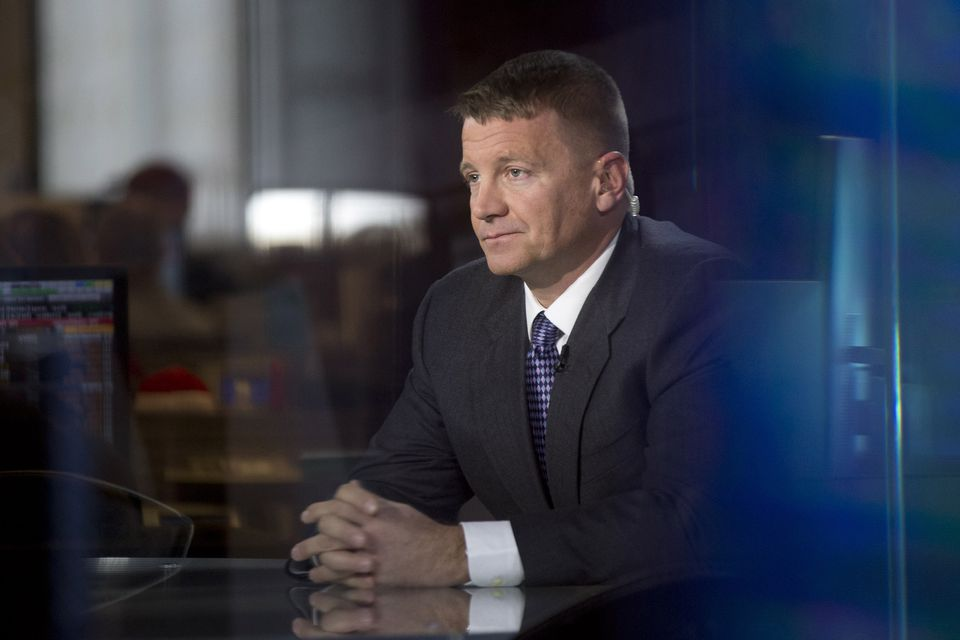 Erik Prince, the founder of Blackwater.
