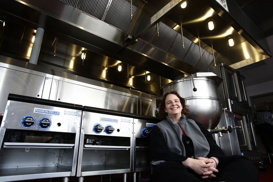 Jen Faigel runs CommonWealth Kitchen, a shared cooking space that has helped hatch more than 50 food startups in the past five years.
