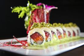 The Amazing Roll at Osaka in Brookline.