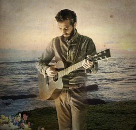 """""""I tried to do stuff that was evocative of movie soundtracks and spaces and places.I was trying to create those environments and then tell a story with the lyrics,"""" says Ben Schneider of the songs on Lord Huron's new album, """"Lonesome Dreams."""""""
