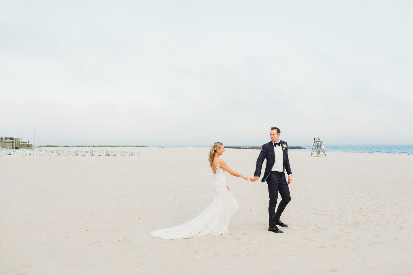 """Jimmy Hayes surprised his now wife, Kristen, when he proposed. """"I didn't expect any of it, since it was the middle of hockey season,"""" says Kristen."""