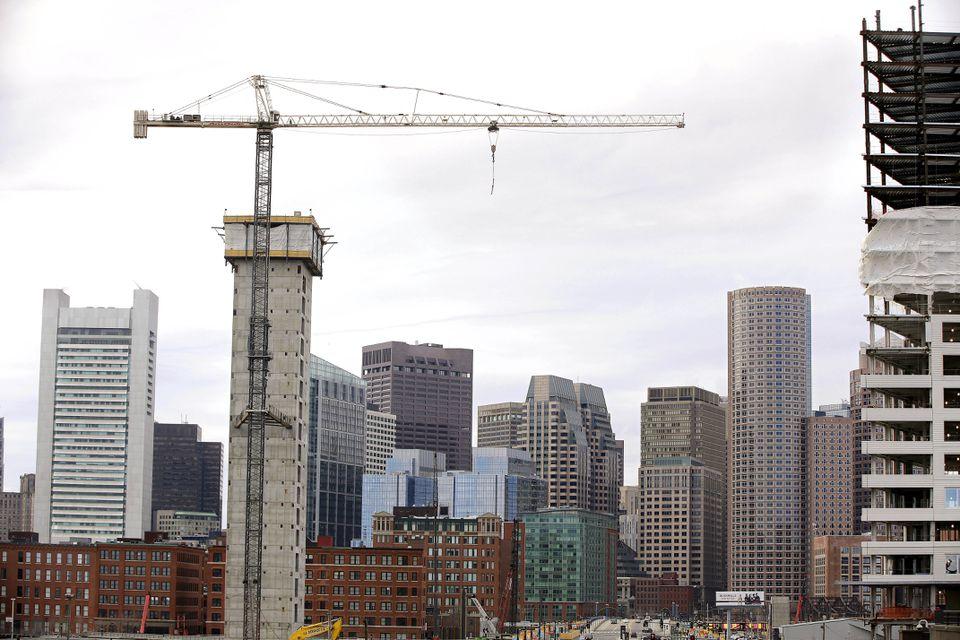 The Boston skyline.