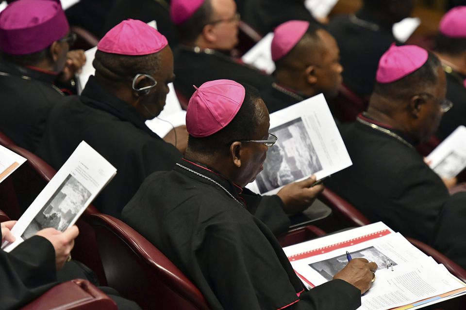Bishops attended the opening of a sex abuse prevention summit at the Vatican Thursday.