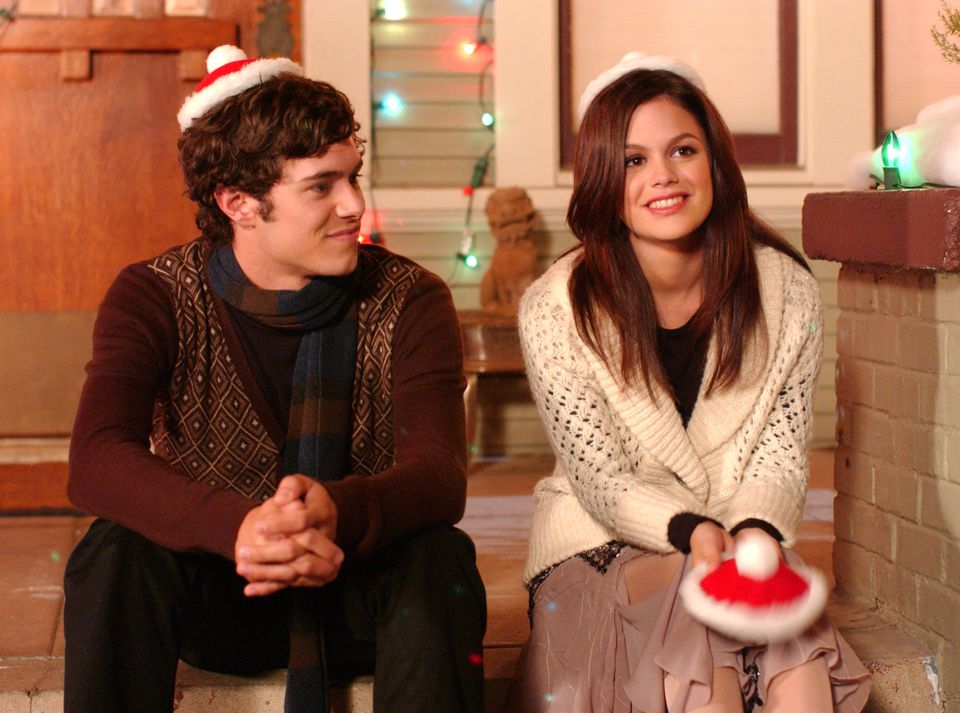 "Seth (Adam Brody) and Summer (Rachel Bilson) basked in the warm glow of Chrismukkah on ""The O.C."""