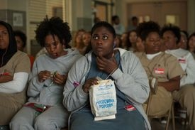 """Adrienne C. Moore (left) and Danielle Brooks in """"Orange Is the New Black."""""""
