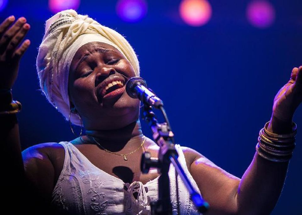 Singer-composer-bandleader Daymé Arocena makes her Boston debut Friday at the Institute of Contemporary Art.