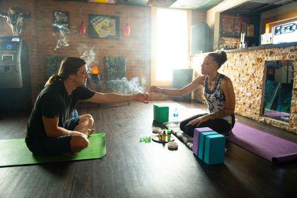 As Mass  debates marijuana cafes, Colorado's burgeoning