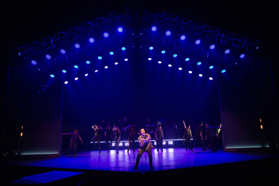 """The company of American Repertory Theater's """"Jagged Little Pill."""""""