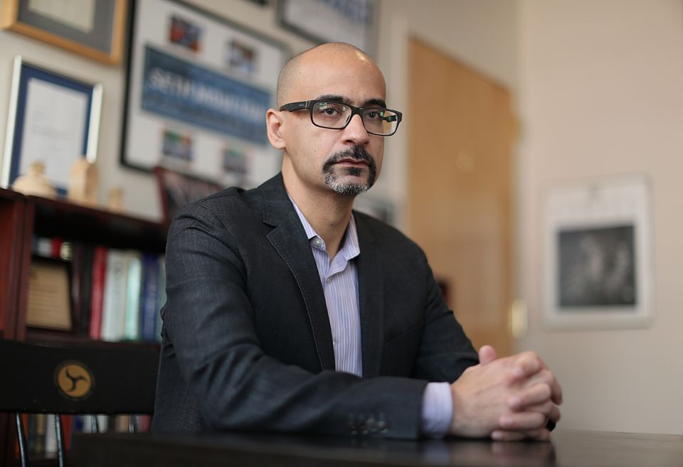 Author Junot Díaz adamantly denied allegations of inappropriate behavior made by two female writers.