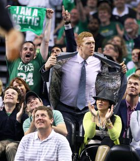 """The white mamba"" as Scalabrine dubbed himself in a play on Kobe's nickname, ""just chills. Watches and chills."""