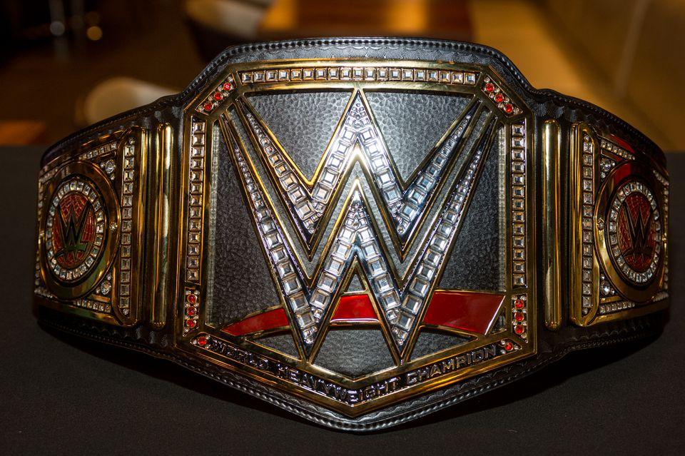 A WWE Championship Belt.