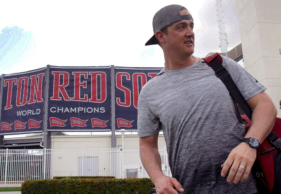 The Red Sox became champions last fall, but Steven Wright was on the sidelines.