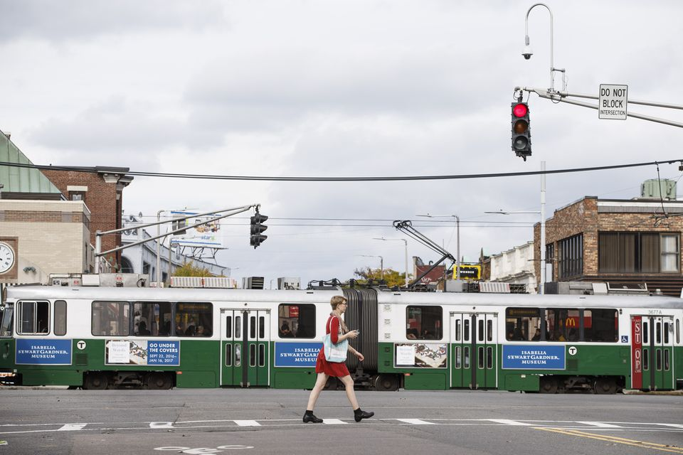 Transit signal prioritization could speed up trips on street-running portions of the Green Line.