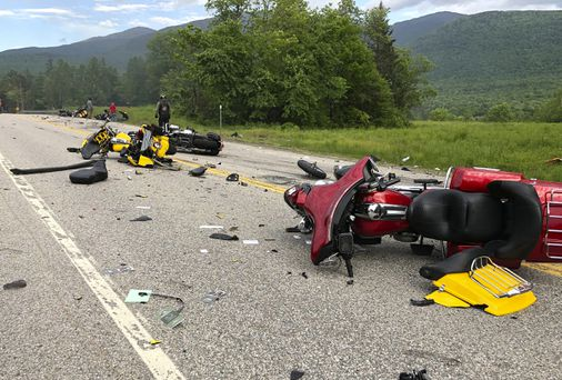 Motorcycle club leader says resignation of RMV head over N.H. crash is 'ridiculous'