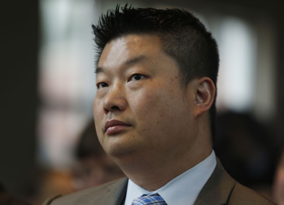 School Superintendent Tommy Chang.