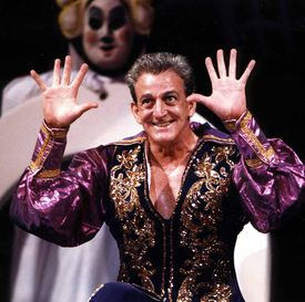 Mr. Pelaez performed as Marco the Magi in the Beverly show.