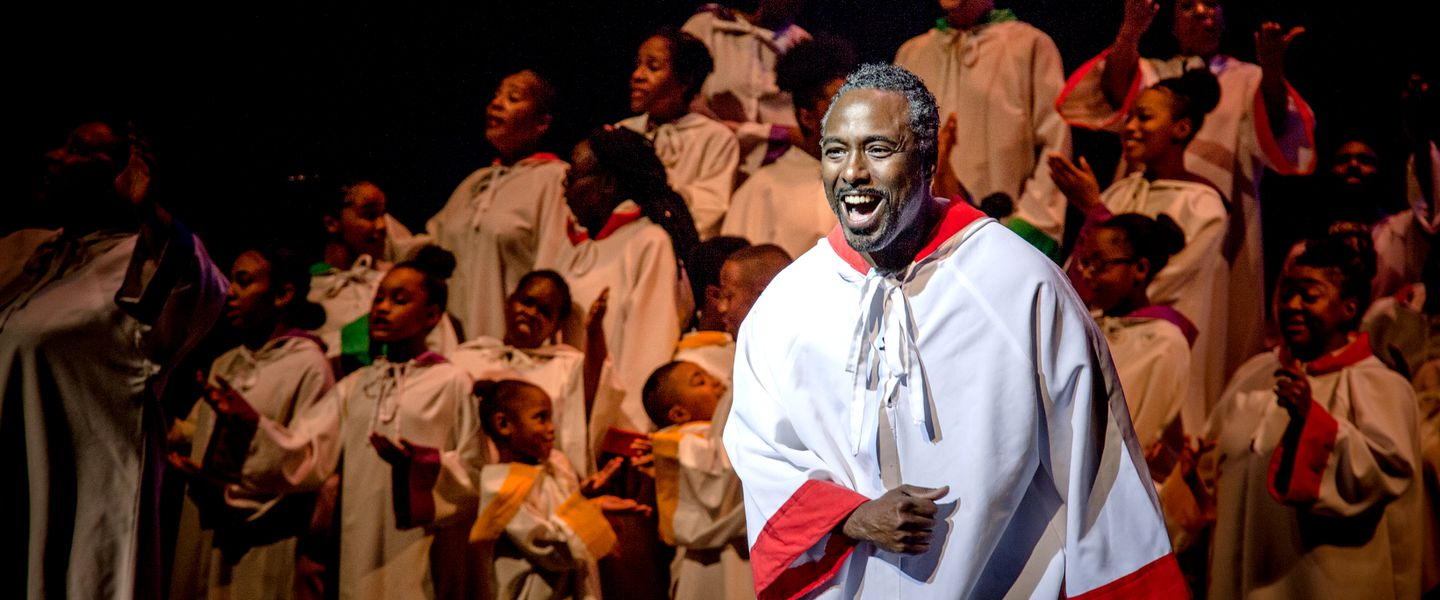 """Black Nativity"" runs Dec. 1 through Dec. 17 at Paramount Center."