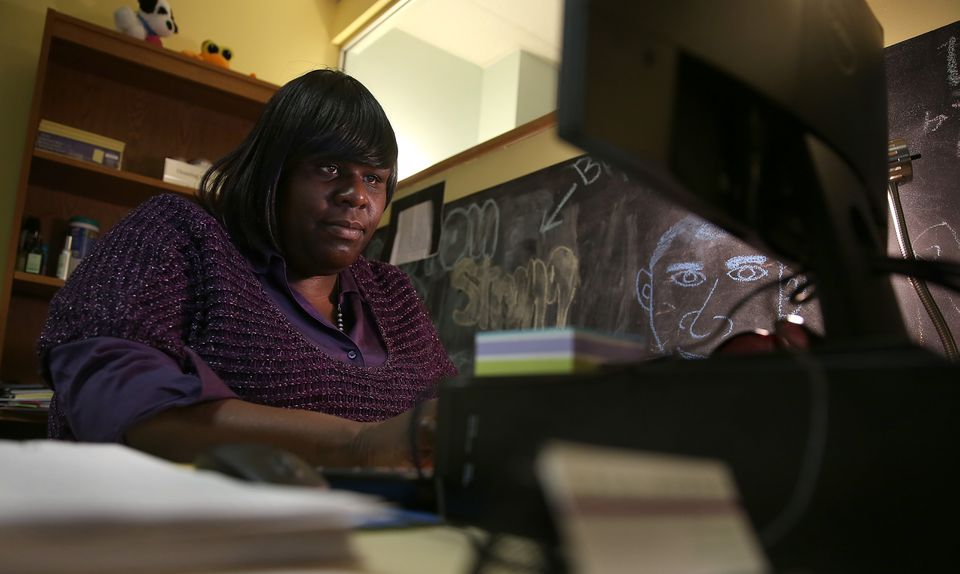 Priscilla Williams, a housing specialist at Casa Myrna, went from a homeless shelter to YMCA job training to $36,000 a year job.