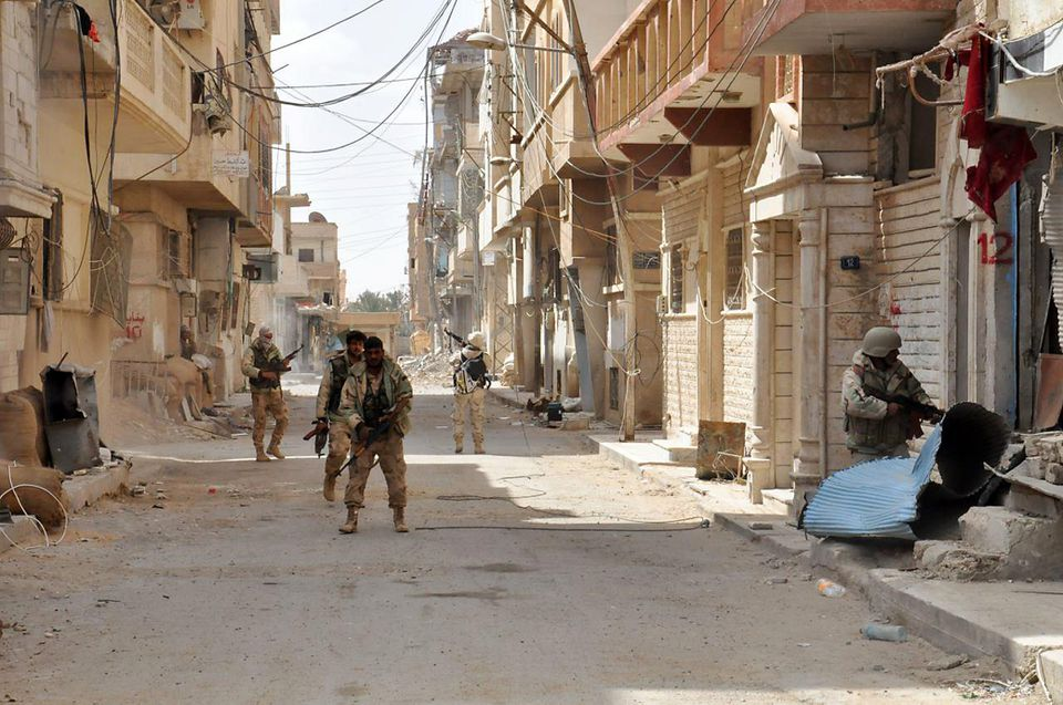 Syrian government forces entered the ancient city of Palmyra, once under the control of ISIS, earlier this month.