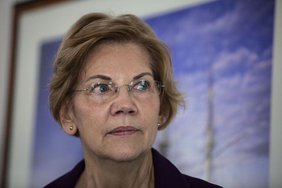 In the month since she launched her exploratory committee, Elizabeth Warren has repeatedly called for self-funding billionaires to stay out of the race.
