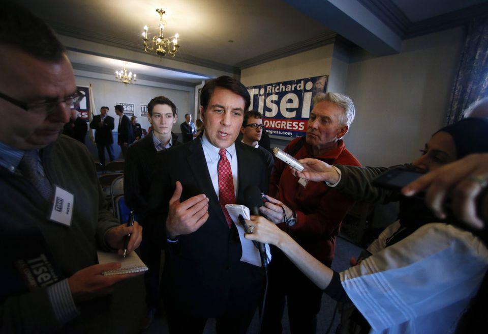 Former Republican Massachusetts state Senator Richard Tisei.