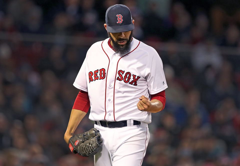 0f78bfd88 David Price had to leave his April start against the Yankees after one  inning because of