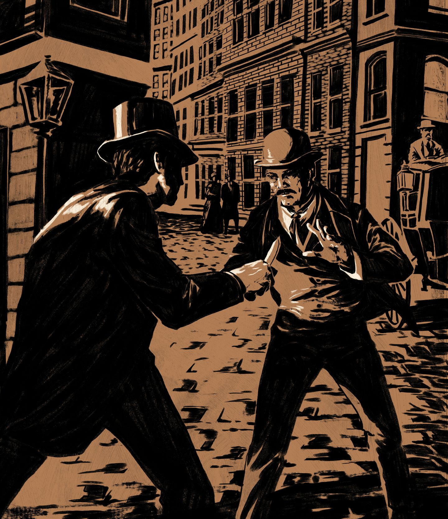 """Detective Starkweather confronts a con man so adept the newspapers dubbed him """"Dazzle."""""""