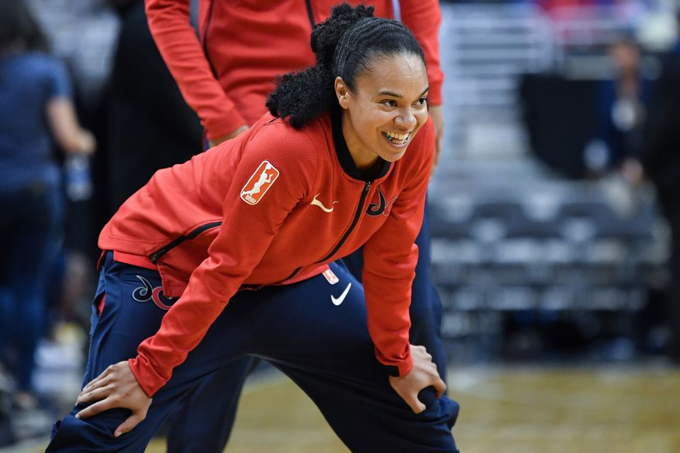 Kristi Toliver has played for the Washington Mystics the past two seasons, helping them reach the WNBA Finals this year for the first time.