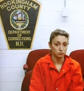 Darriean Hess was arraigned via video in Seabrook, N.H., in September 2013.