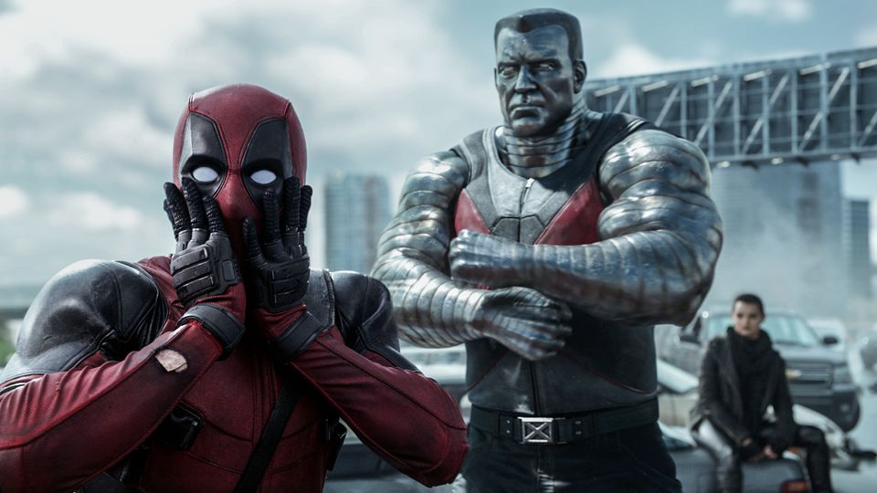 Ryan Reynolds as Deadpool and Stefan Kapicic as Colossus.
