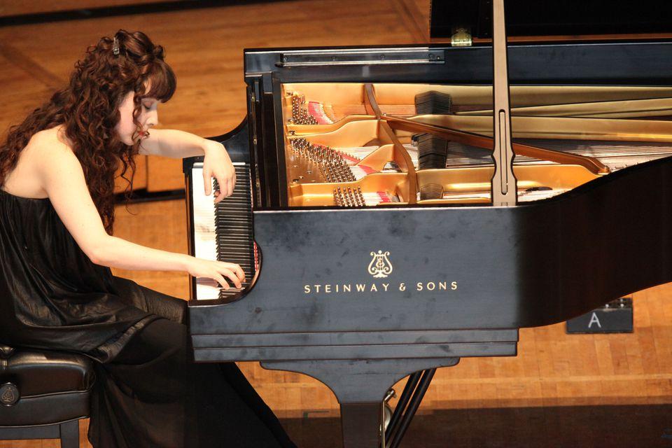 Katherine Dowling performing Saturday.