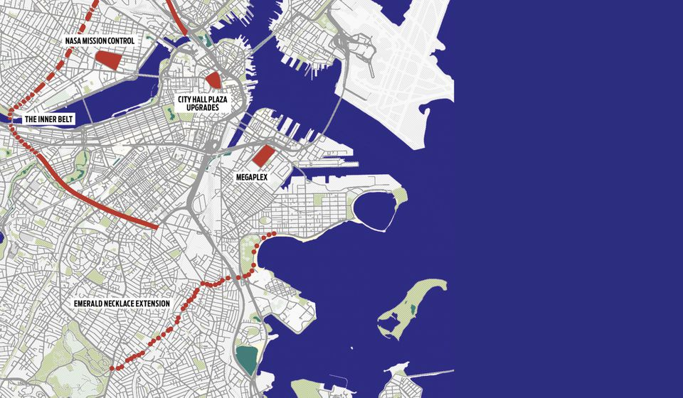 Boston's cityscape would be different had these projects come to life.