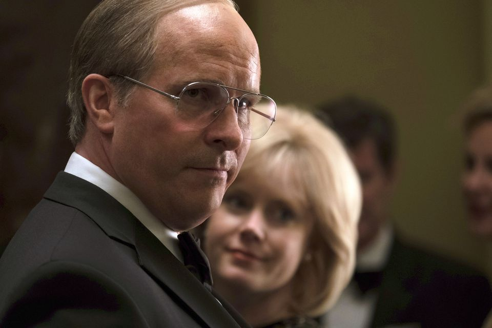 "Christian Bale (left) and Amy Adams are up for Oscars for their respective portrayals of Dick and Lynne Cheney in ""Vice."""