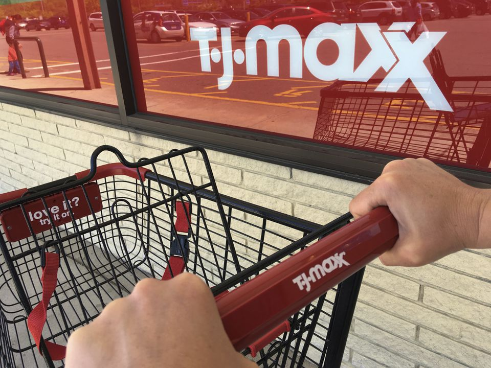 A TJX Cos. spokeswoman says the company has paid employees before when a natural disaster has caused store closings.
