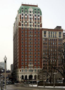 The Blackstone Hotel in Chicago.